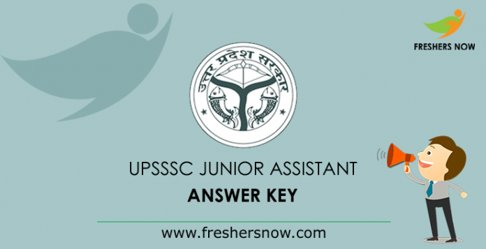 UPSSSC Junior Assistant Answer Key 2019