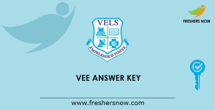VEE Answer Key 2019