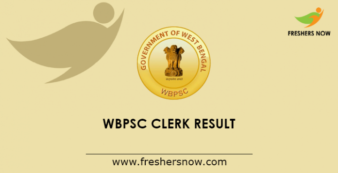 WBPSC Clerk Result 2019