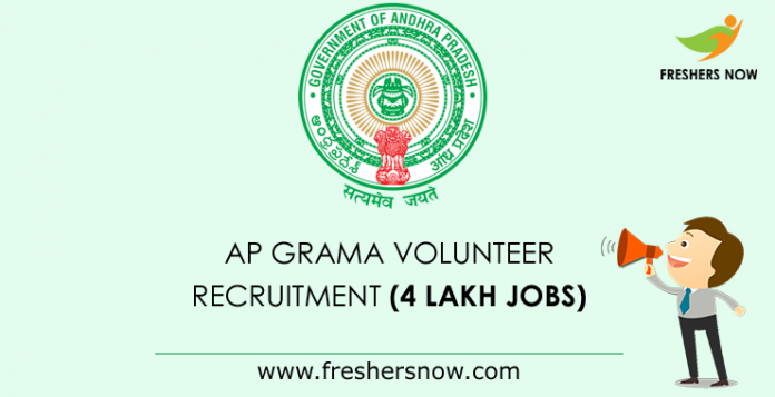 AP Grama Volunteer Notification 2019 | Application Form