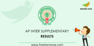 AP Inter Supplementary Results