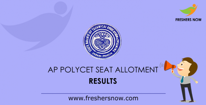 AP Polycet Seat Allotment Results