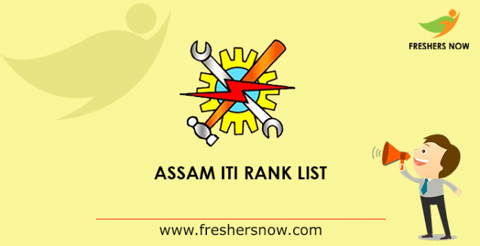 Assam ITI Rank List 2019