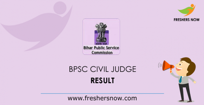 BPSC Civil Judge Result 2019 | Cut Off Marks, Merit List