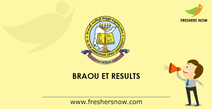 BRAOU Eligibility Test Results