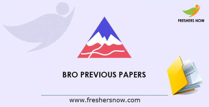 BRO Previous Papers