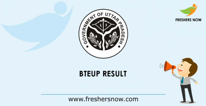 BTEUP Result 2019 bteup ac in | UP Diploma 2nd, 4th, 6th Sem Results