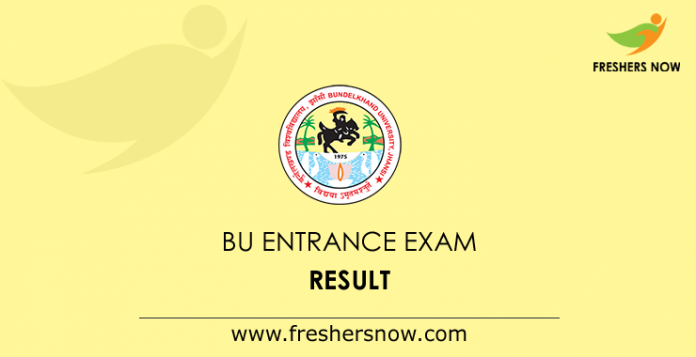 BU Entrance Exam Result