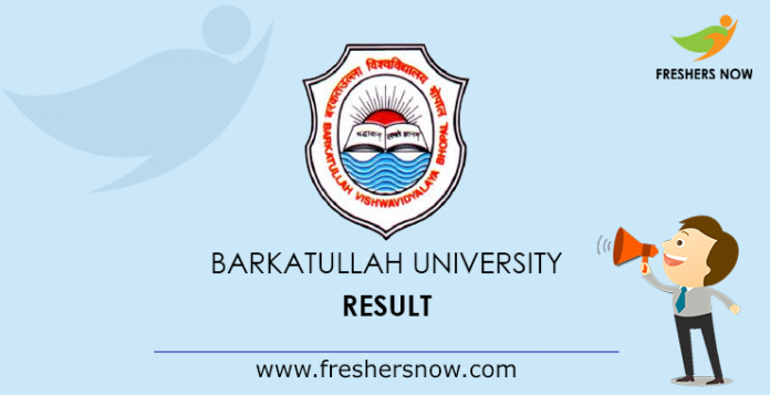 Barkatullah University Result