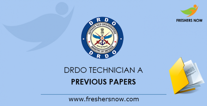 DRDO Technician A Previous Papers