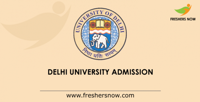 Delhi University Admission 2019