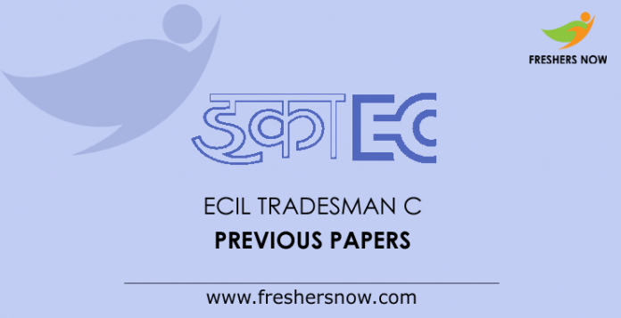 ECIL Tradesman C Previous Papers