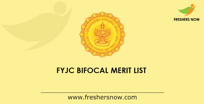 FYJC Bifocal Merit List 2019