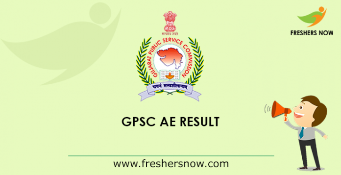 GPSC AE Result 2019