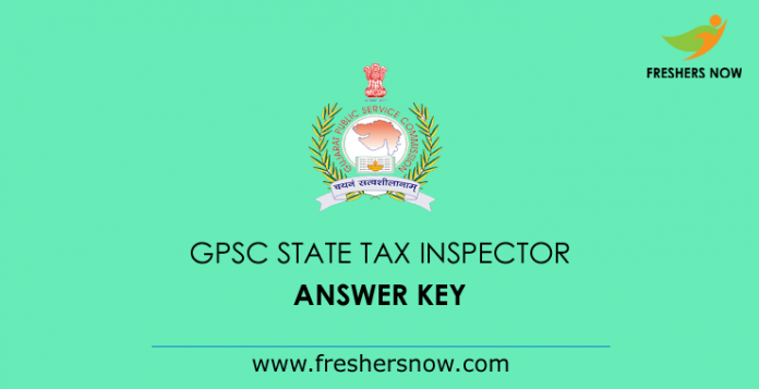 GPSC-State-Tax-Inspector-Answer-Key