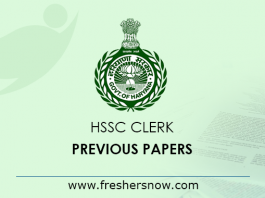 HSSC-Clerk-Previous-Papers
