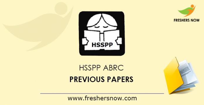 HSSPP-ABRC-Previous-Papers