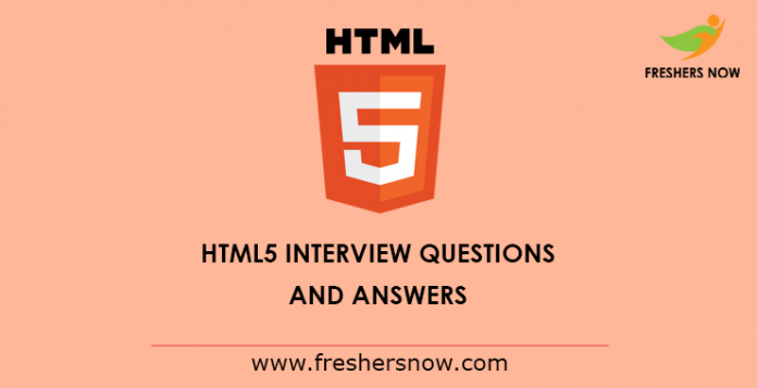 HTML5-Interview-Questions-and-Answers