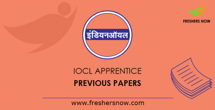 IOCL Apprentice Previous Question Papers