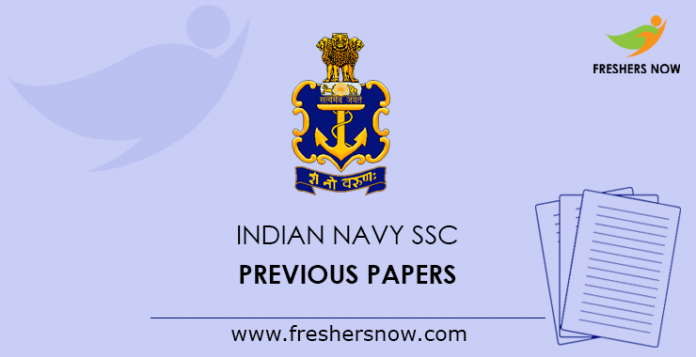 Indian Navy SSC Previous Papers