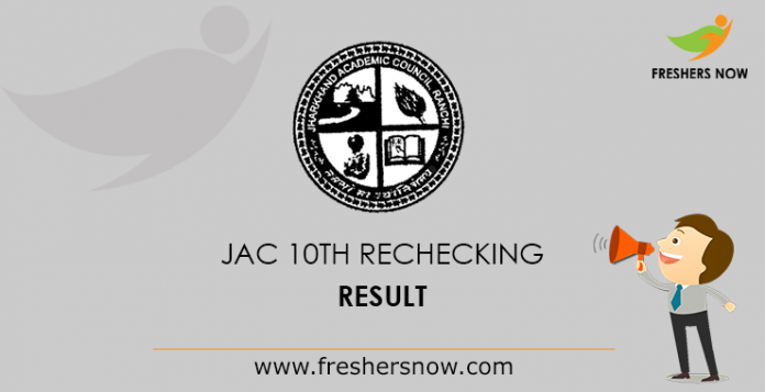 JAC 10th Rechecking Result
