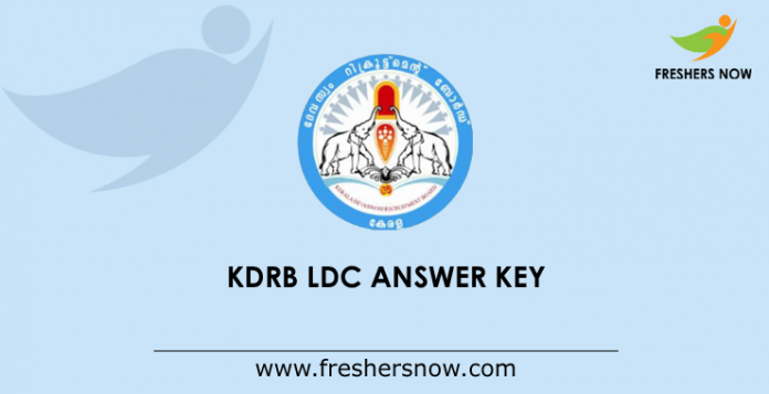 KDRB LDC Answer Key 2019