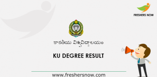 KU Degree Result
