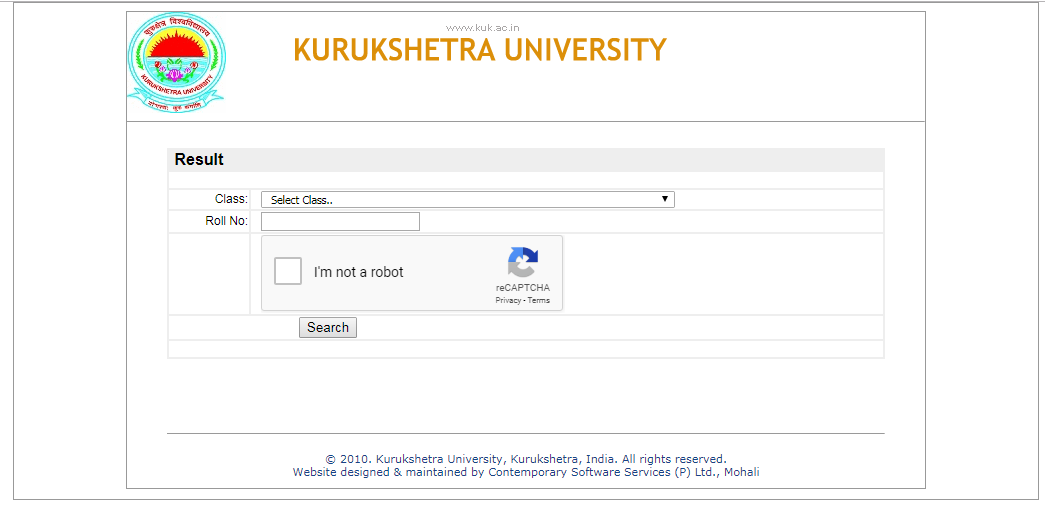 KUK Result 2019 Out | Kurukshetra University UG, PG Results @ kuk ac in