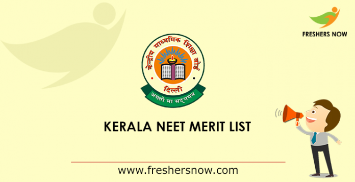 Kerala NEET Rank list 2019