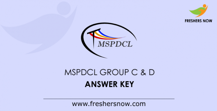 MSPDCL-Group-C-&-D-Answer-Key