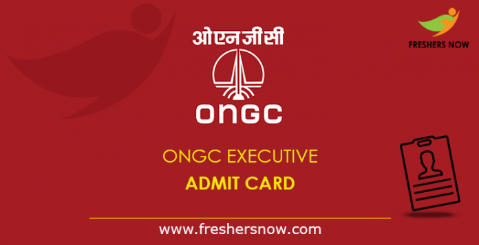 ONGC-Executive-Admit-Card