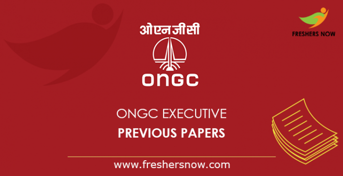 ONGC Executive Previous Papers