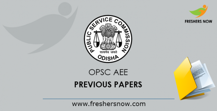OPSC AEE (Civil, Mechanical) Previous Question Papers PDF