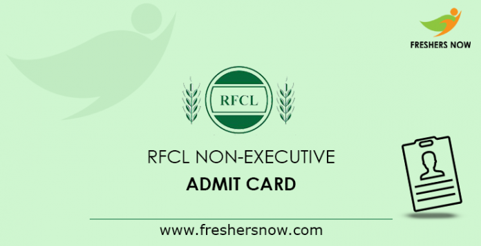 RFCL-Non-Executive-Admit-Card