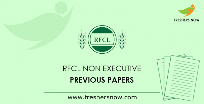 RFCL Non Executive Previous Papers