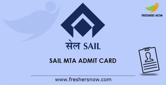 SAIL-MTA-Admit-Card