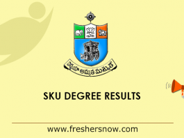 SKU Degree Results 2019
