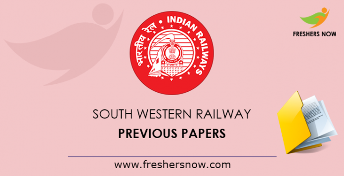 South Western Railway Previous Papers