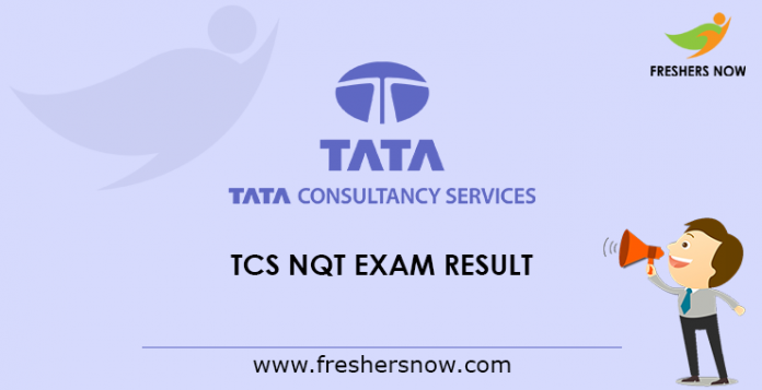 TCS NQT Exam Result 2019 Out - National Qualifier Test Results