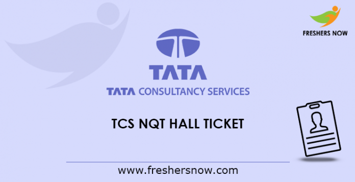TCS NQT Hall Ticket 2019