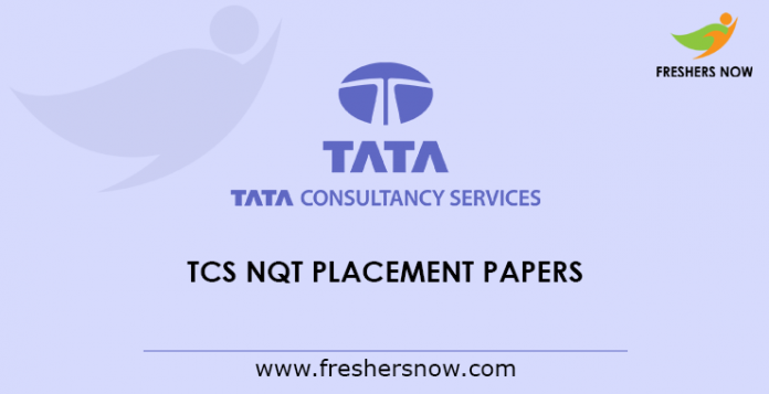 TCS NQT Placement Papers