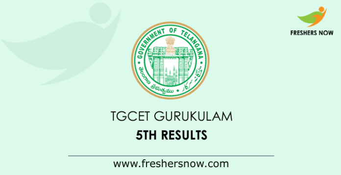 TGCET Gurukulam 5th Results 2019 Phase 3 Released @ tgcet cgg gov in