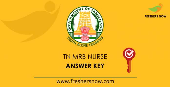TN MRB Nurse Answer Key 2019