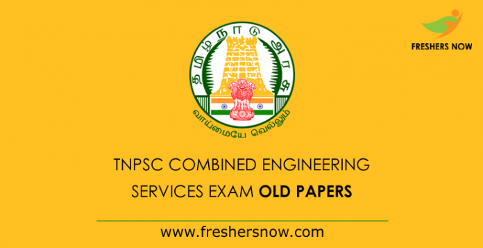 TNPSC Combined Engineering Services Previous Papers