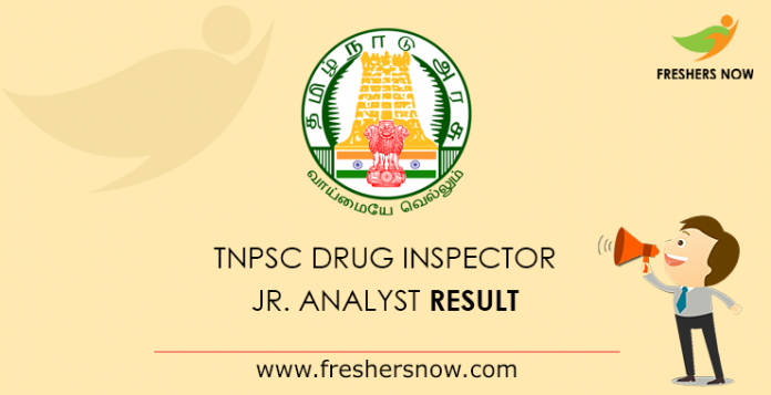 TNPSC-Drug-Inspector,-Jr.-Analyst-Result