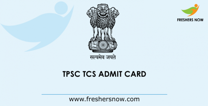 TPSC Admit Card 2019