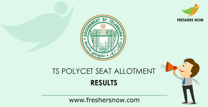 TS Polycet Seat Allotment Results
