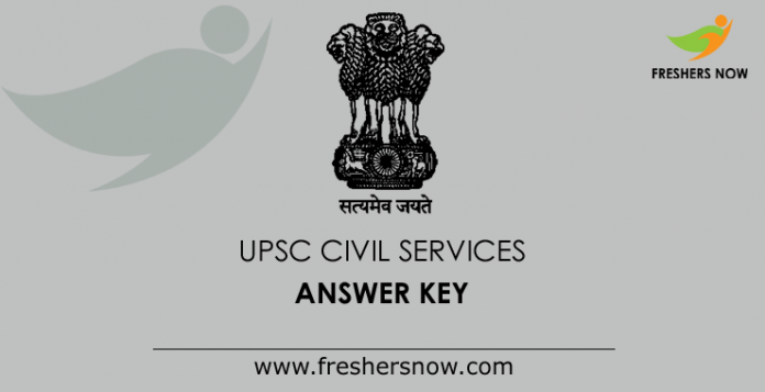 UPSC Civil Services Prelims Answer Key