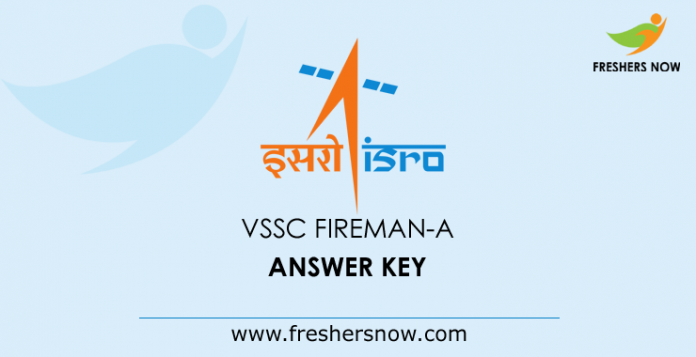 VSSC Answer Key