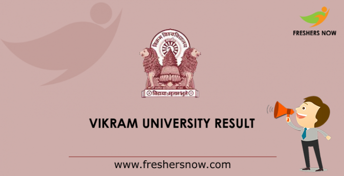 Vikram University Result 2019